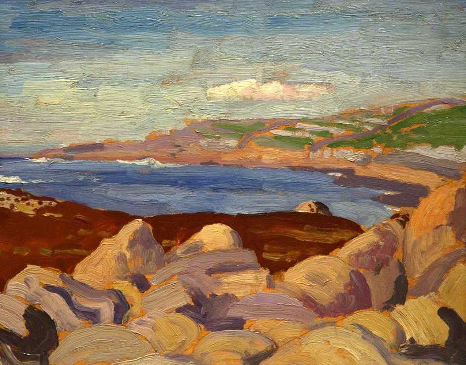 Irish Coast - Augustus John