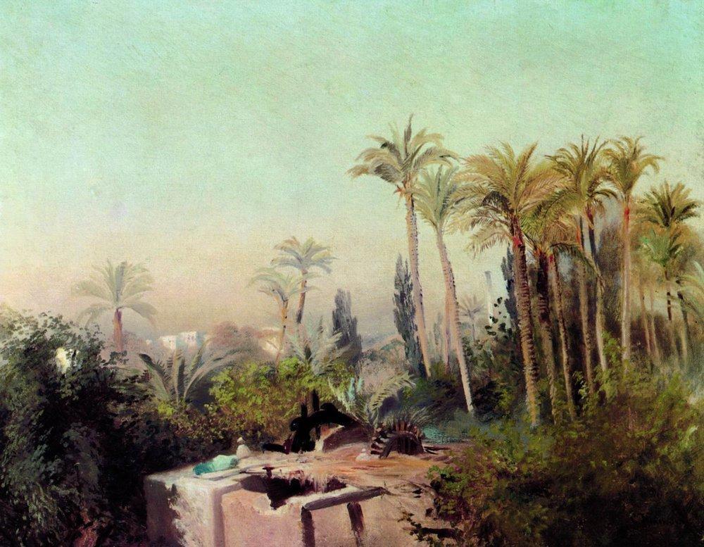 Irrigation in Egypt - Konstantin Makovsky