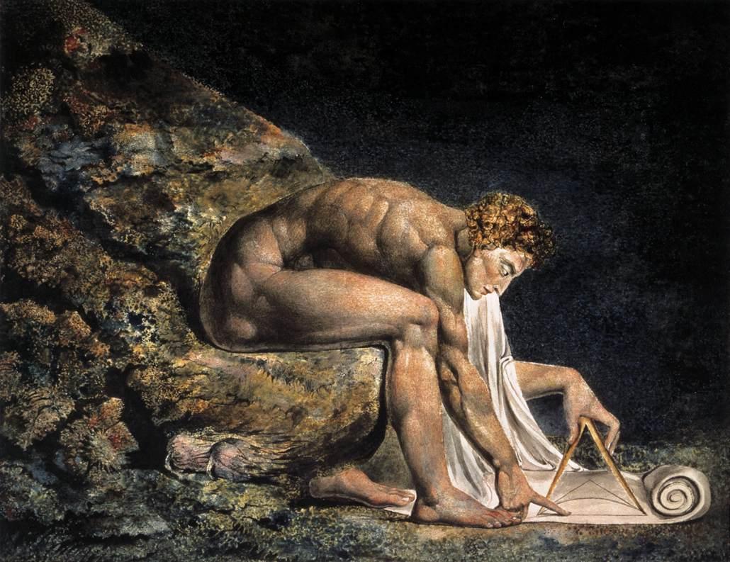 Isaac Newton - William Blake