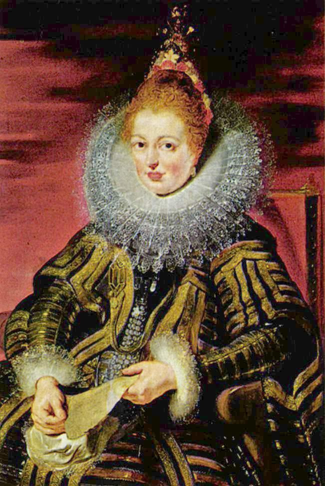 Isabella (1566-1633), Regent of the Low Countries  - Peter Paul Rubens