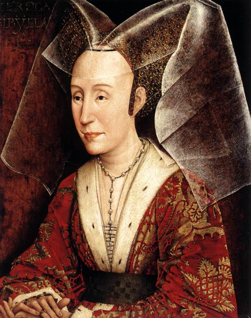 Isabella of Portugal - Rogier van der Weyden