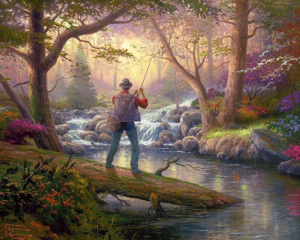 It Doesn't Get Much Better - Thomas Kinkade