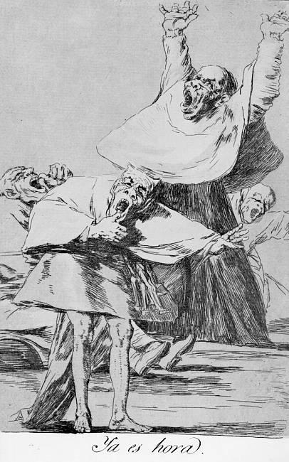 It is Time - Francisco Goya