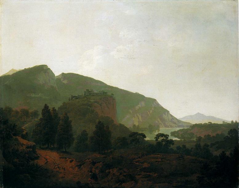 Italian Landscape - Henryk Siemiradzki