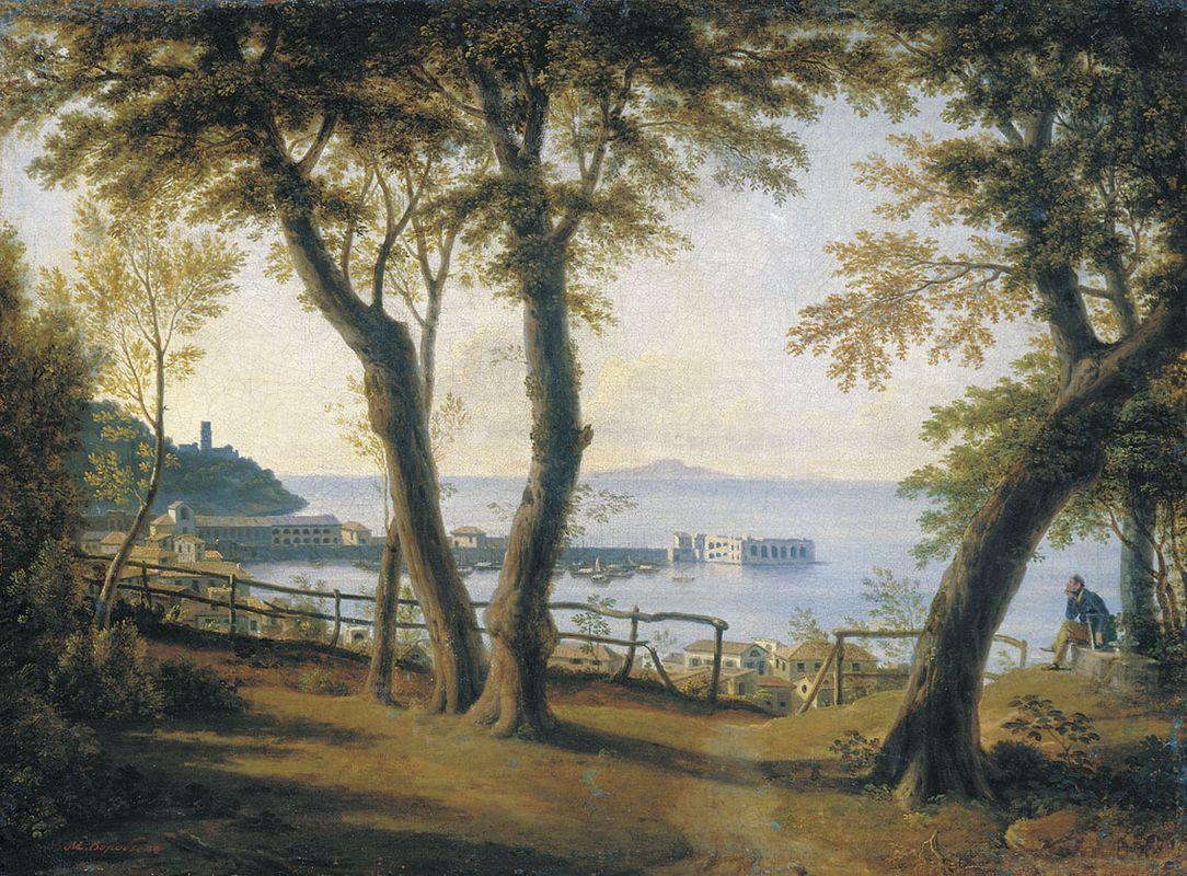Italian Seaside Landscape - Maxim Vorobiev