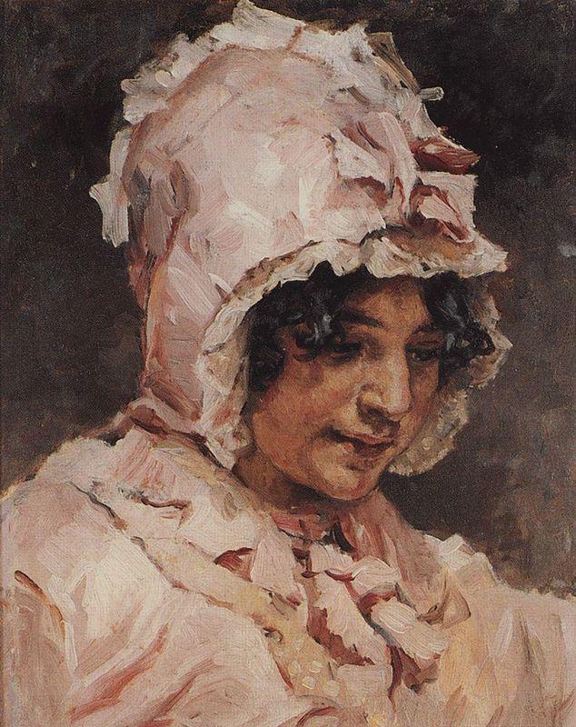 Italian woman - Vasily Surikov