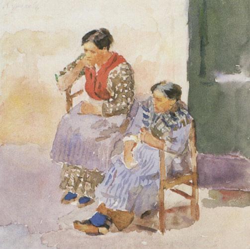 Italian women - Vasily Surikov