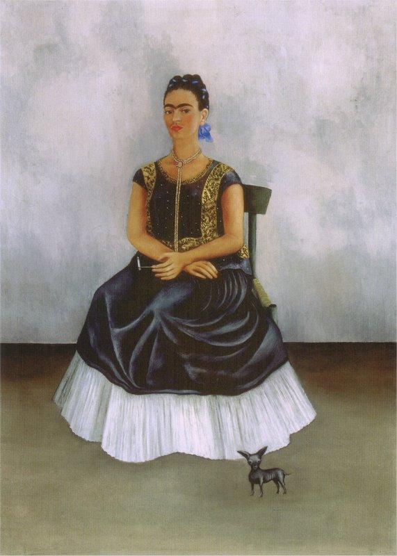 Itzcuintli Dog with Me - Frida Kahlo