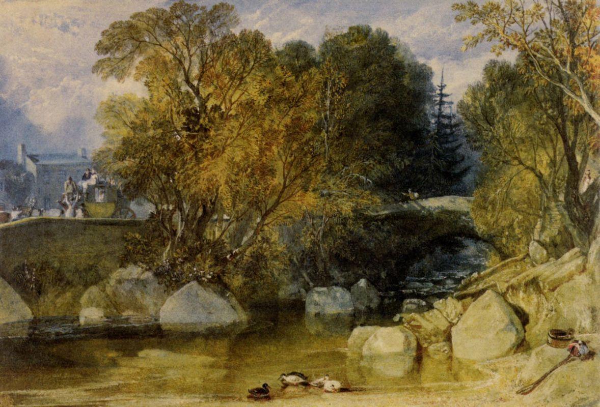 Ivy Bridge, Devonshire - William Turner