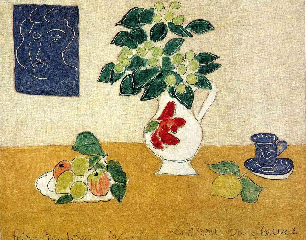 Ivy in Flower - Henri Matisse