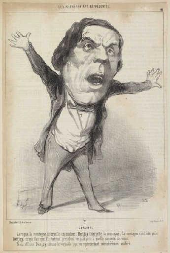 J.F.P. Denjoy - Honore Daumier