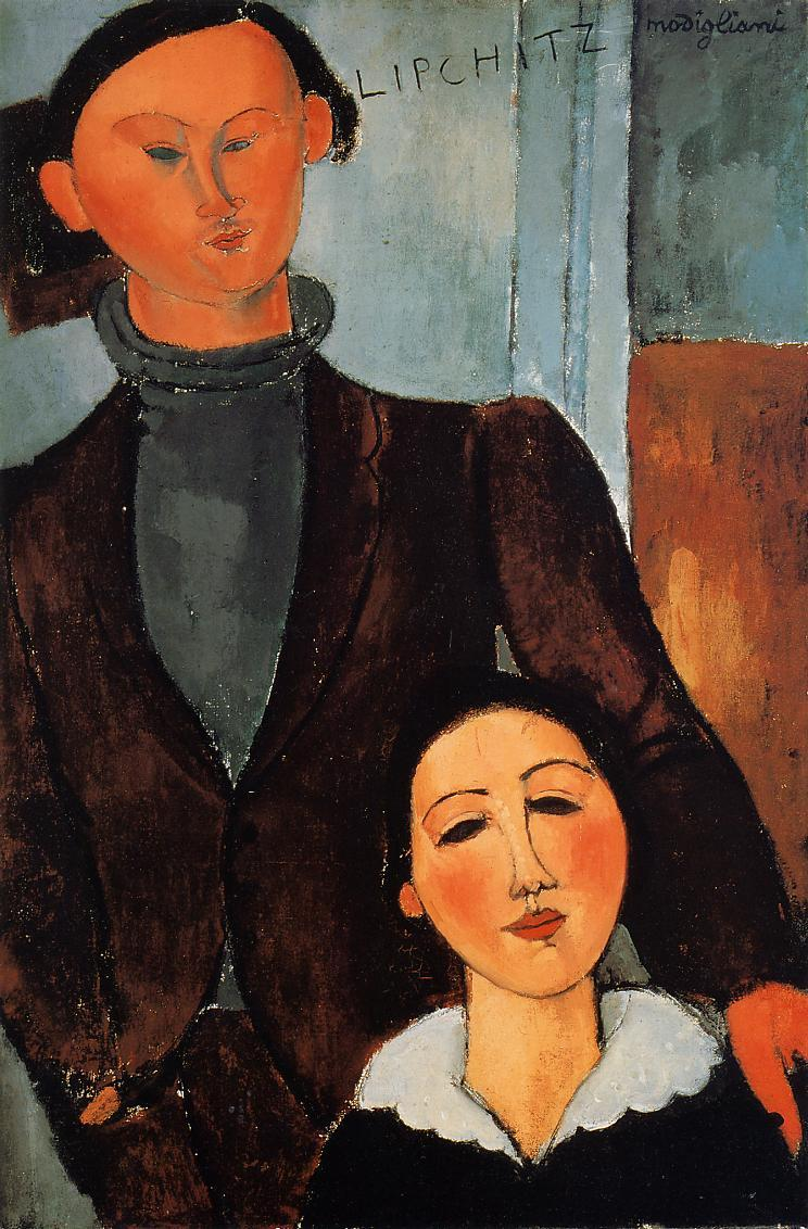 Jacques and Berthe Lipchitz - Amedeo Modigliani