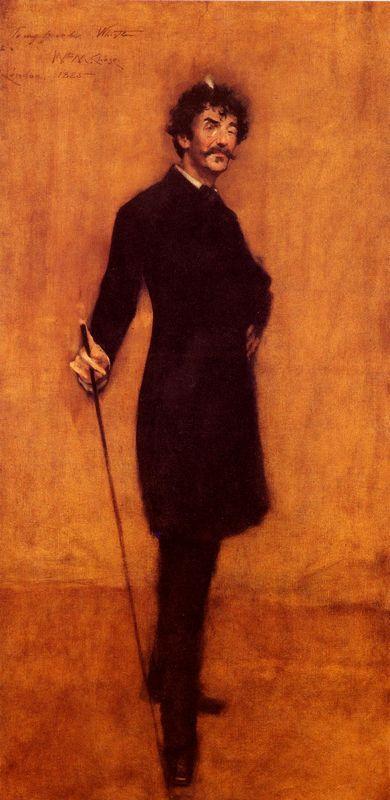 James Abbott McNeill Whistler - William Merritt Chase