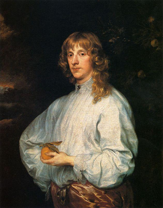 James Stuart, Duke Of Richmond And Lennox With His Attributes - Anthony van Dyck