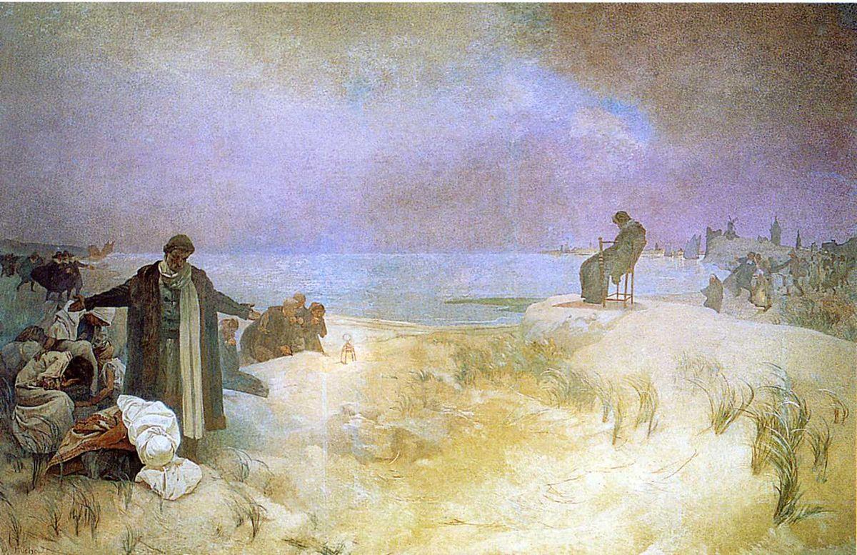 Jan Amos Komensky - Alphonse Mucha