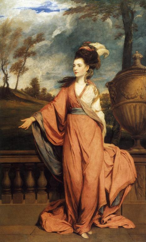 Jane Fleming, later Countess of Harrington - Joshua Reynolds