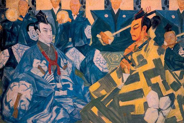 Japanese Theatre (Kabuki) - Alexandre Jacovleff