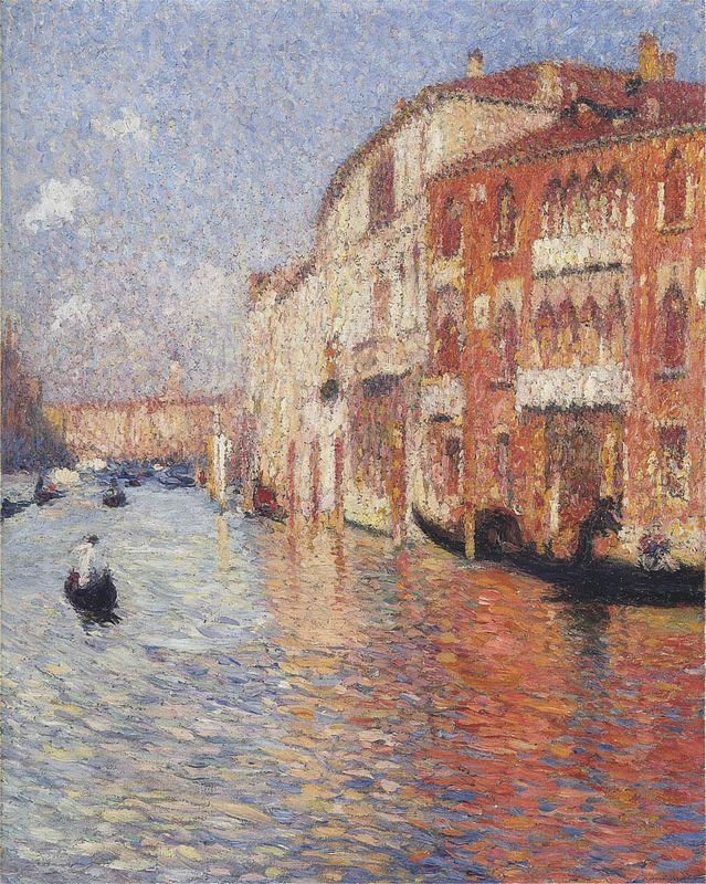 Jaune Palace in Venice - Henri Martin