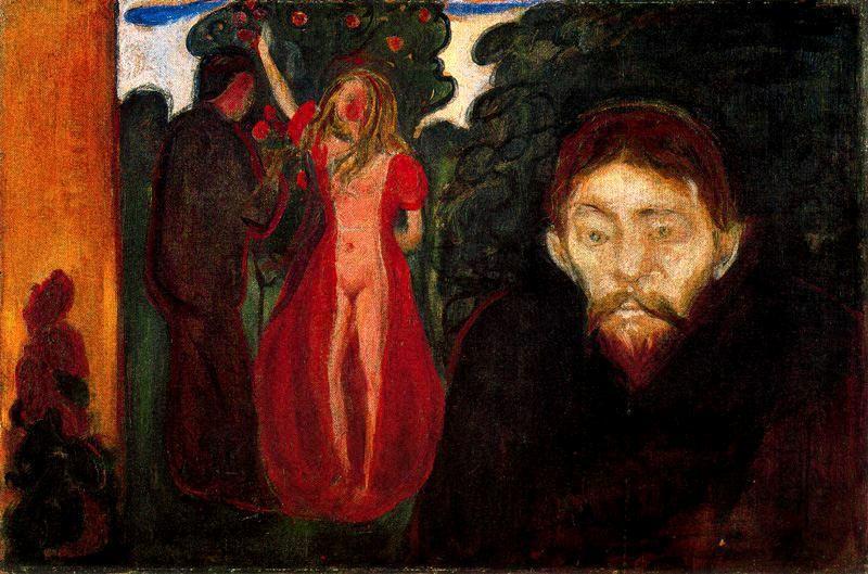 Jealousy - Edvard Munch