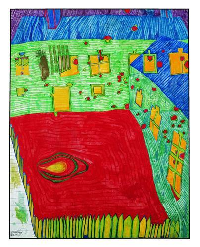 531 Jew's House in Austria - Friedensreich Hundertwasser