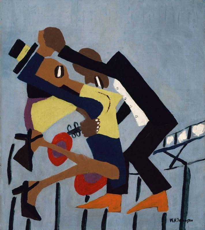 Jitterbugs (III) - William H. Johnson
