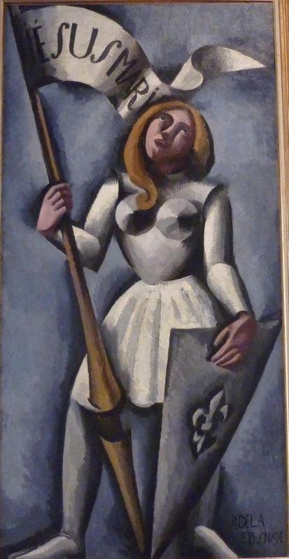 Joan of Arc  - Roger de La Fresnaye