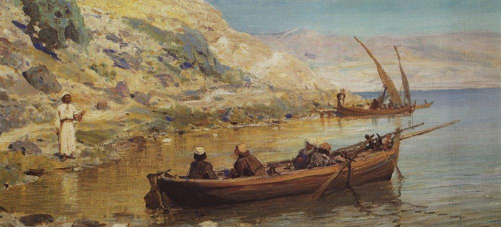 John and James - Vasily Polenov