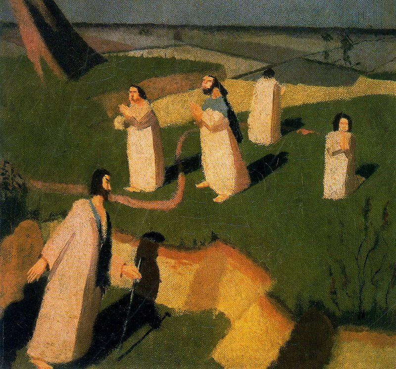 John Donne Arriving In Heaven - Stanley Spencer