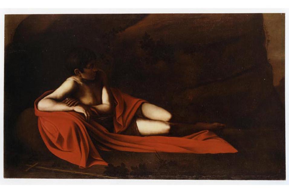 John the Baptist (Reclining Baptist) - Caravaggio