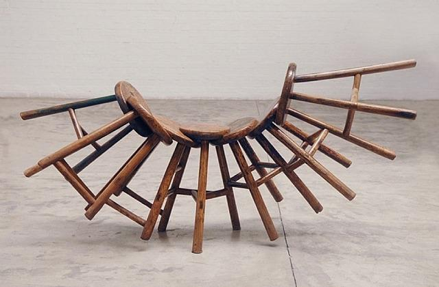 Jointed Stool - Ai Weiwei