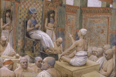 Joseph Interprets Pharaoh's Dream - James Tissot