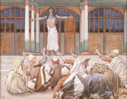 Joseph Makes Himself Known to His Brethren - James Tissot
