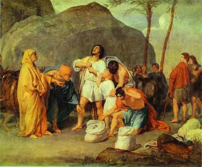 Joseph's Brothers Find the Silver Goblet in Benjamin's Pack - Alexander Ivanov