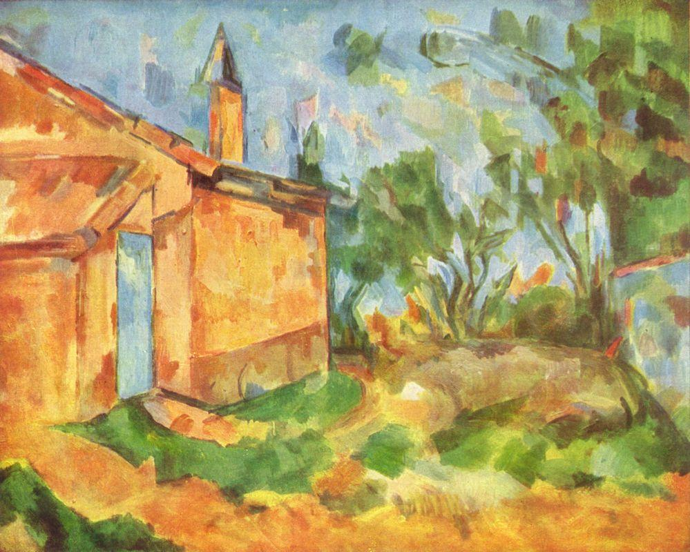Jourdan's Cottage - Paul Cezanne
