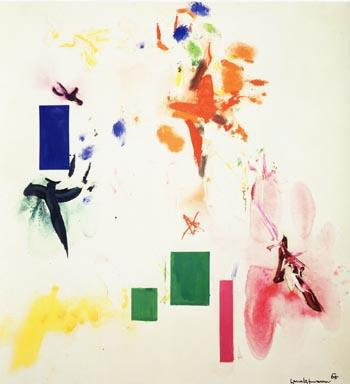 Joy Sparks of the Gods II - Hans Hofmann