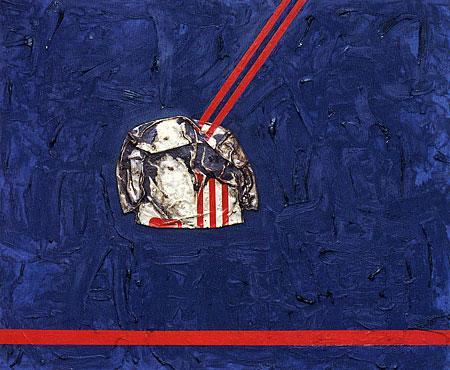 Juan Gris in Paris (adieu Picabia) - Dan Flavin