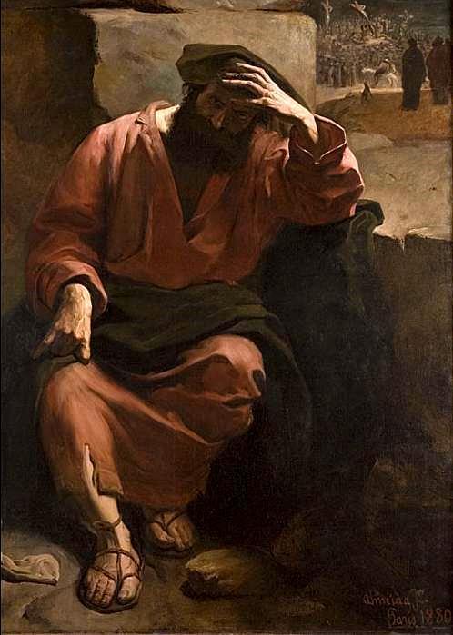 Judas' regret - Jose Ferraz de Almeida Junior