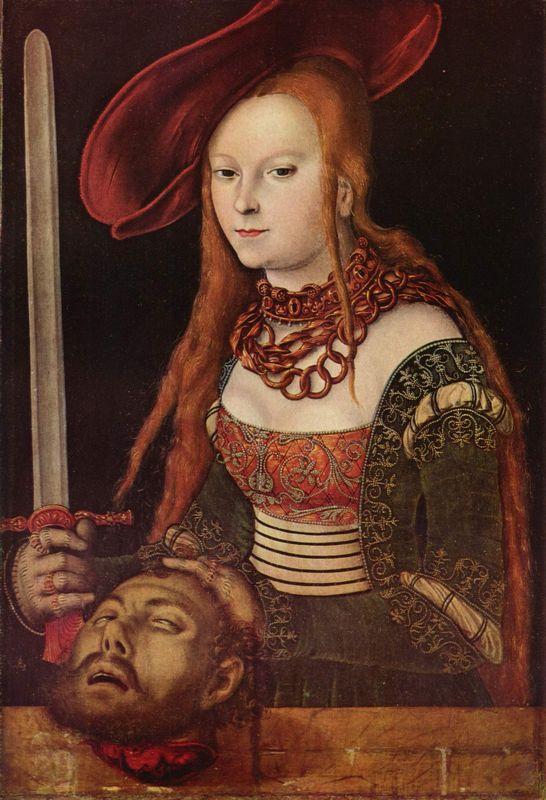Judith - Lucas Cranach the Elder