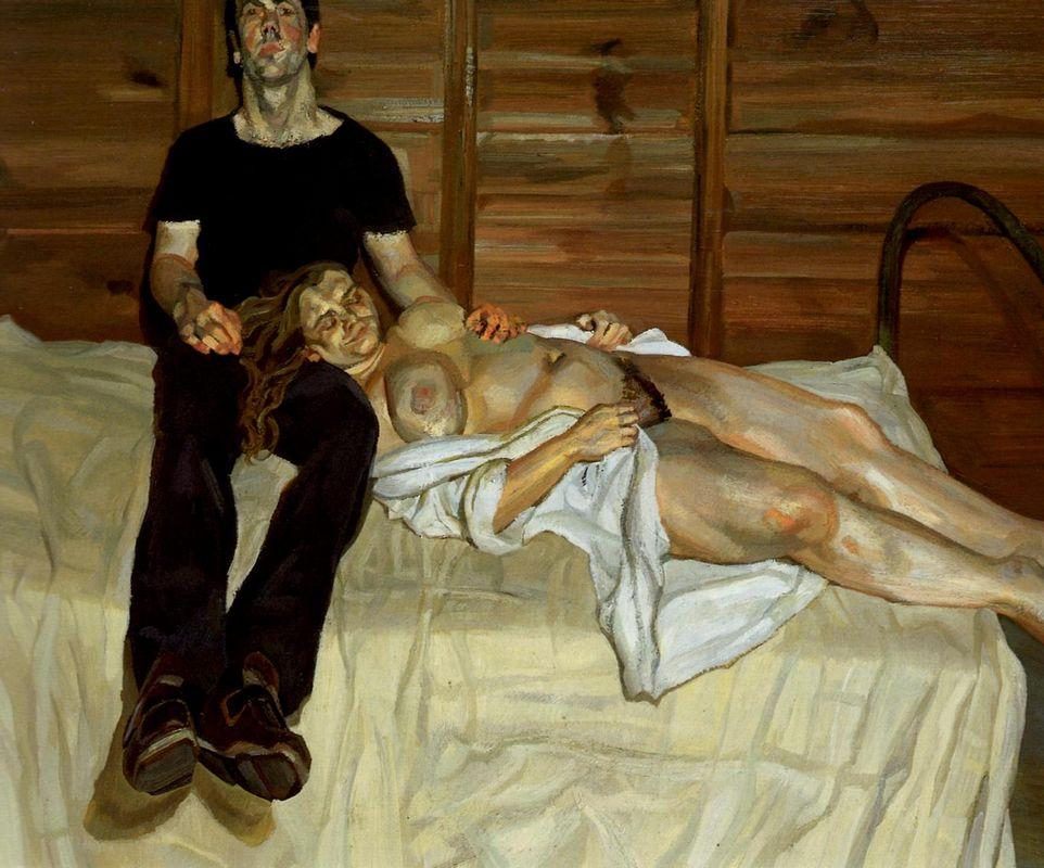 Julie and Martin - Lucian Freud