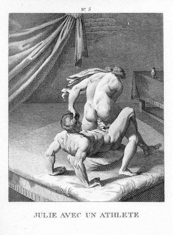 Julie with an athlete - Agostino Carracci