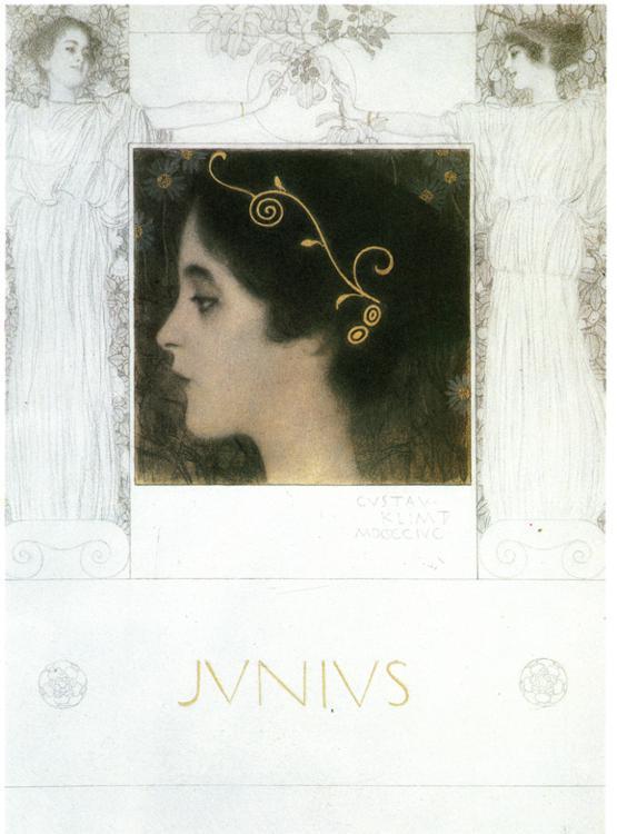 Junius - Gustav Klimt