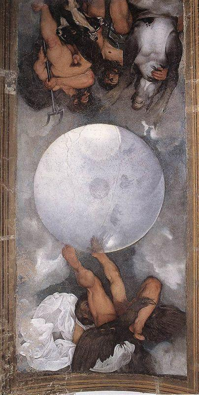 Jupiter, Neptune and Pluto - Caravaggio