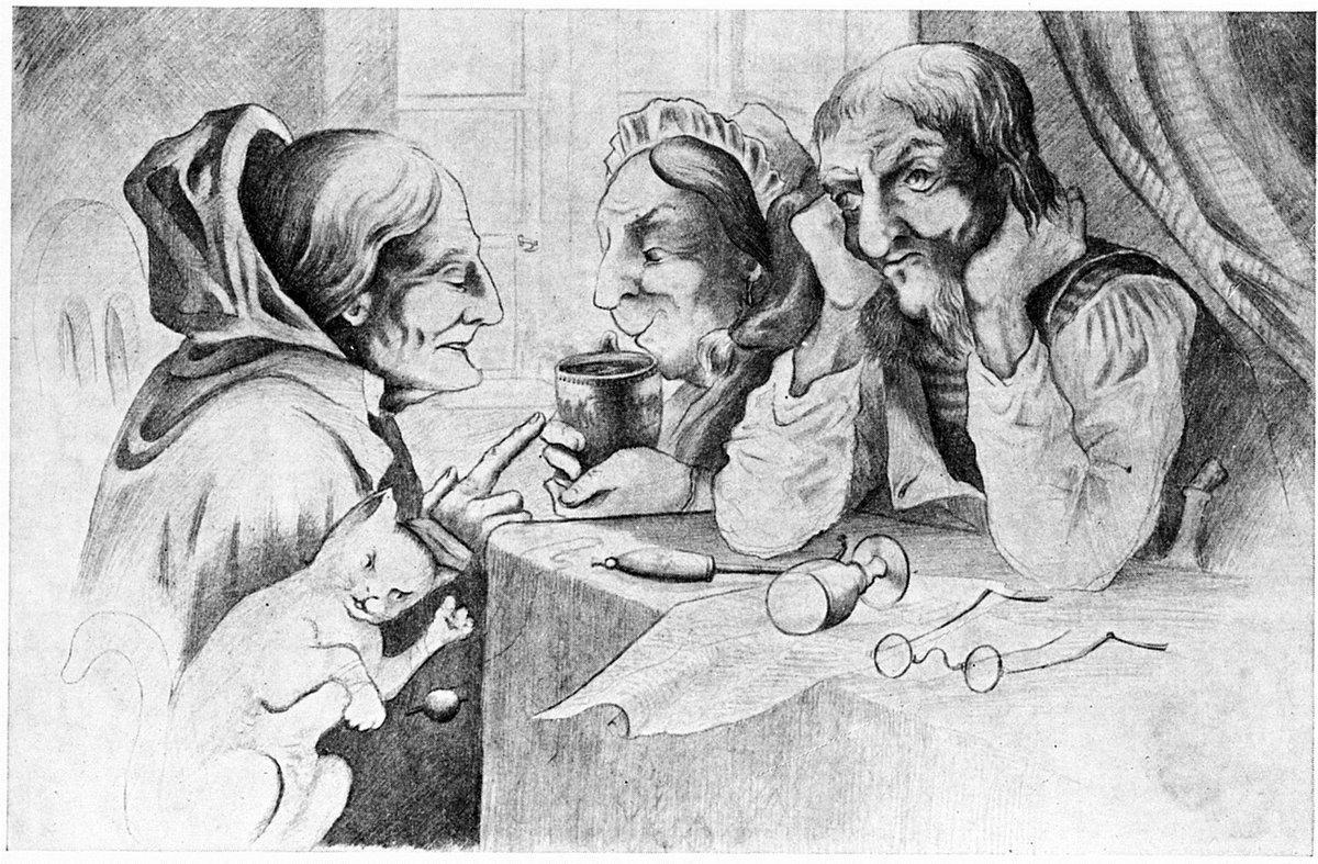 Kaffesladder - Theodor Severin Kittelsen