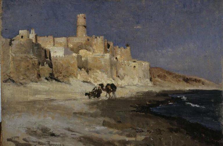 Kasbah Monastery - Henri Rousseau