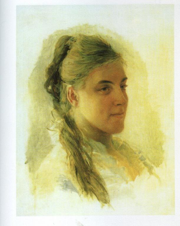 Katerina Ivanovna Zabello - Nikolai Ge