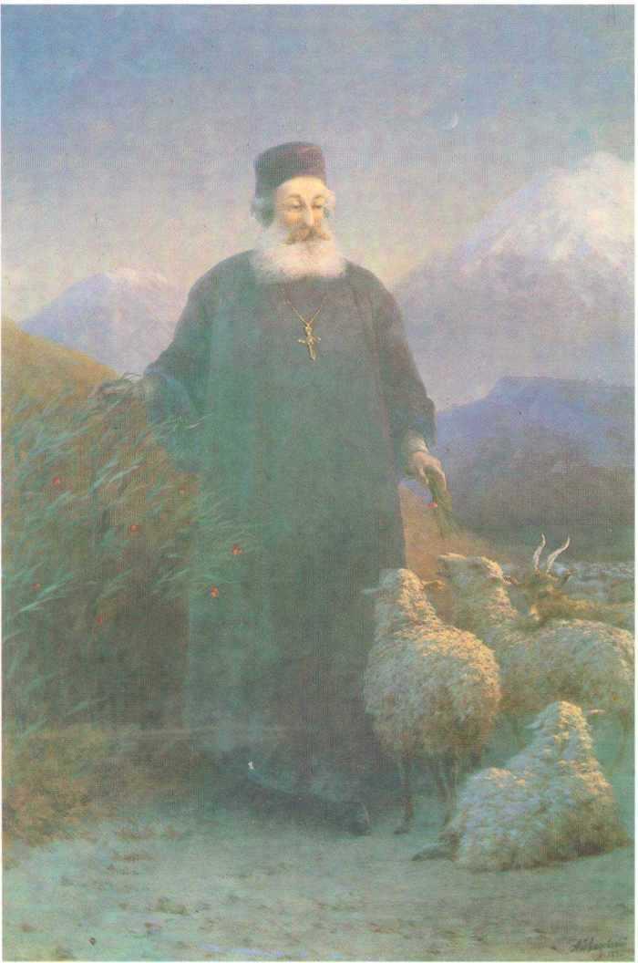 Katolikos Hrimyan near Emiadzin - Ivan Aivazovsky