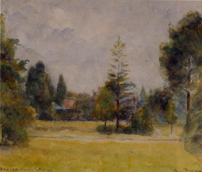 Kew Gardens 2 - Camille Pissarro