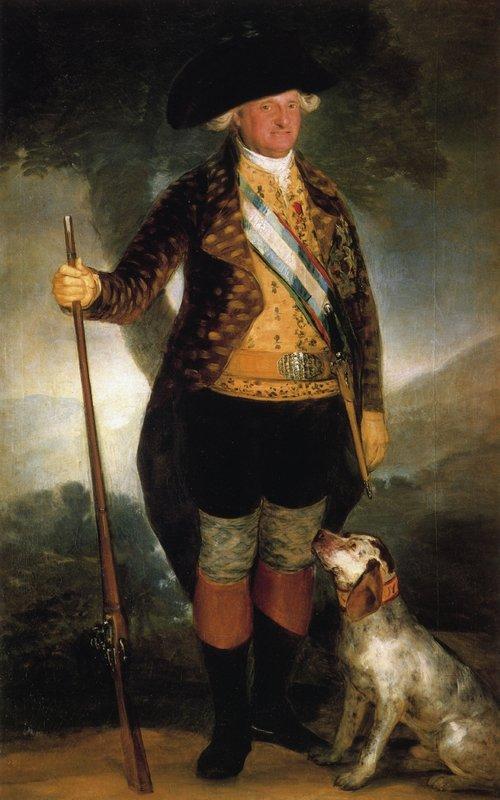 King Carlos IV in Hunting Costume - Francisco Goya