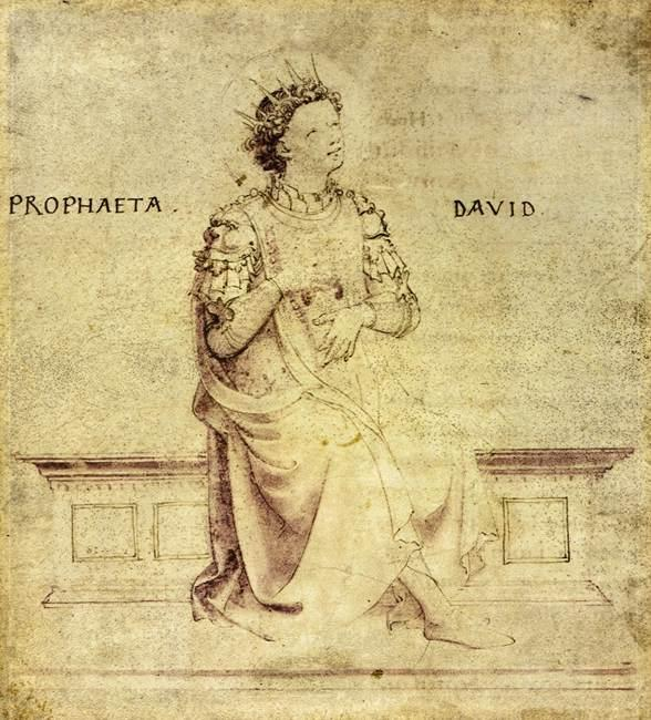 King David Playin a Psaltery - Fra Angelico