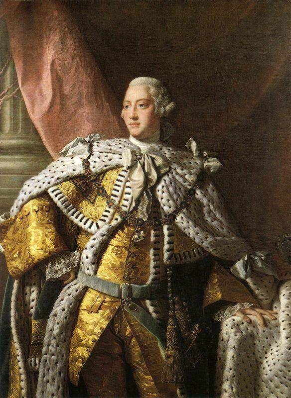 King George III - Allan Ramsay